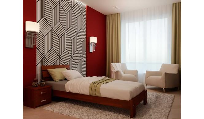 Односпальне ліжко НеоМеблі Лагуна 80х190 (NM1)