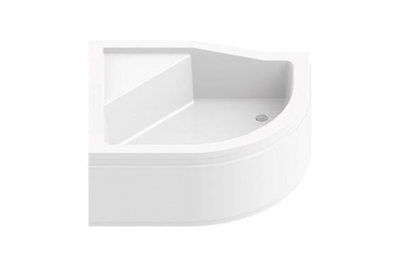 Душовий піддон NEW TRENDY MAXIMA з високим сидінням L 100x80x38,5 см (B-0367)