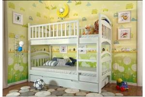 Двоярусне ліжко Арбор Древ Смайл 80х190 сосна (ARS80)