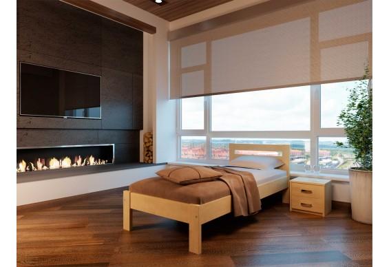 Односпальне ліжко НеоМеблі Соната 80х200 (NM10/200)