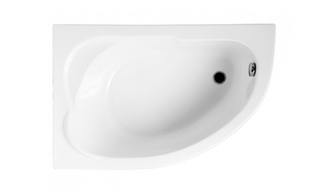 Ванна Polimat Standard асиметрична 130х85, L + ніжки (00350)