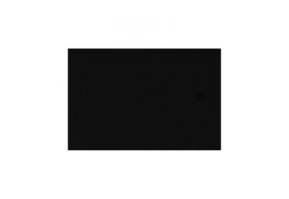 Душовий піддон NEW TRENDY MORI 100x90x3,5 см, чорний RAL 9005 (B-0404)