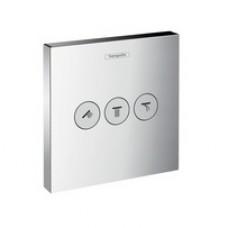 Запірний вентиль Hansgrohe Ecostat Select iControl UP для трьох користувачів прихований монтаж (зовнішня частина)