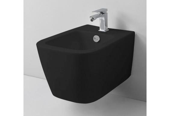Підвісне біде ArtCeram A16 MINI, glossy black (ASB0030300)