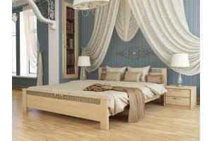 Двоспальне ліжко Естелла Афіна 160х200 буковий щит (DV-27)
