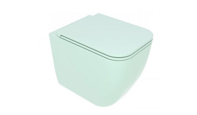 Унітаз підлоговий GSG BRIO 52,5 см Smart Clean matt Water (BRWC01025)