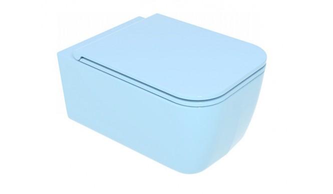Підвісний унітаз GSG BRIO 52,5 см Smart Clean glossy Sky (BRWCSO022)