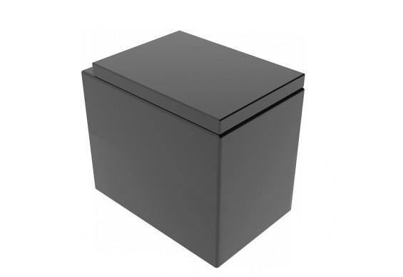Підлоговий унітаз GSG BOX 53 см matt Black (BXWC01003)