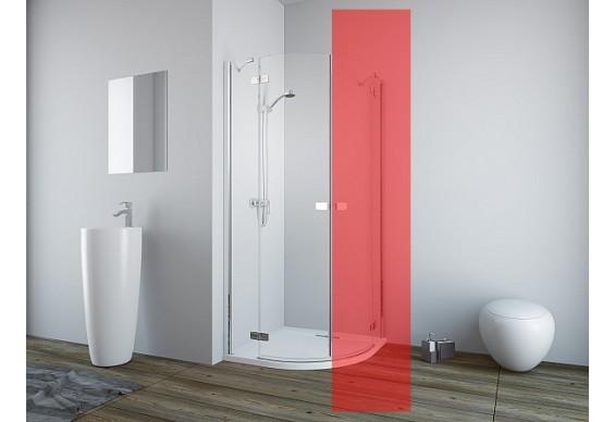 Ліва частина душової кабіни Radaway Fuenta New PDD 80 (384002-01-01L)