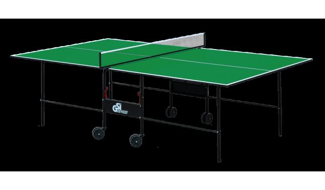 Стіл для настільного тенісу GSI-sport Athletic Light 274x152,5x76 см Green