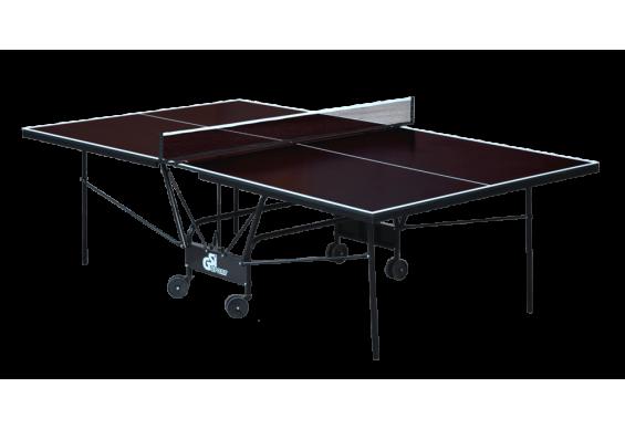 Вуличний стіл для настільного тенісу GSI-sport Compact Street 274x152,5x76 см Brown