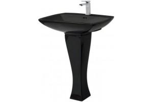 Підвісний умивальник ArtCeram Jazz, glossy black (JZL0040300)