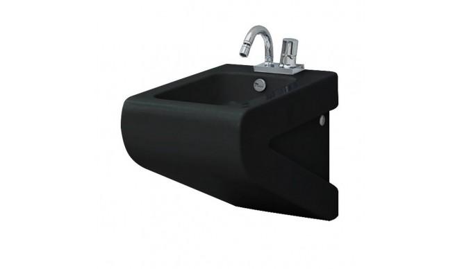 Підвісне біде ArtCeram La Fontana, glossy black (LFB0010300)