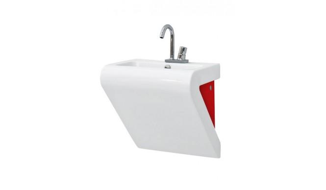 Підвісний умивальник ArtCeram La Fontana, red white (LFL0020151)