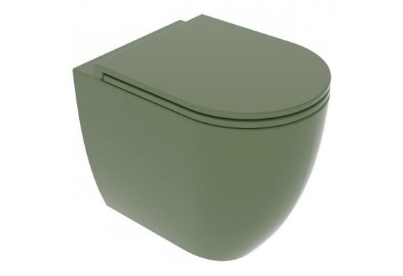 Унітаз підлоговий GSG LIKE 52,5 см Smart Clean Olive (LKWC01026)
