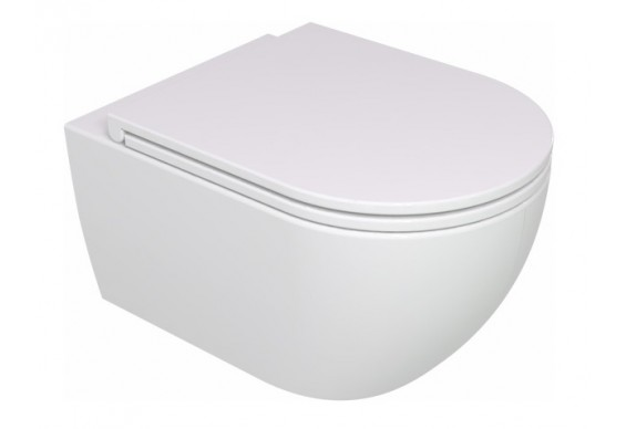 Підвісний унітаз GSG LIKE 52,5 см Smart Clean white glossy (LKWCSO000)