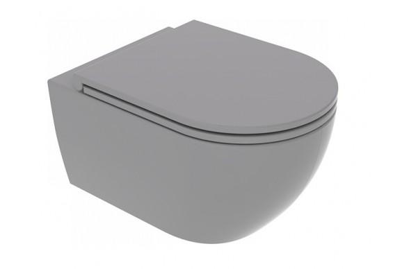 Підвісний унітаз GSG LIKE 52,5 см Smart Clean matt Cement (LKWCSO020)