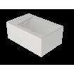 Підвісне біде GSG OZ 53 см white matt (OZBI01001)