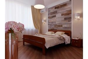 Двоспальне ліжко НеоМеблі Октавія С2 180х200 (NM23/200)