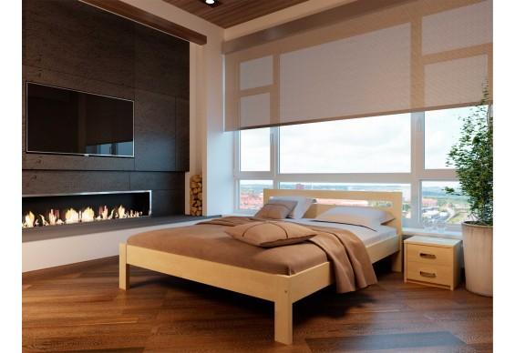 Двоспальне ліжко НеоМеблі Соната 140х190 (NM15)