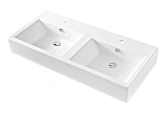 Підвісний умивальник ArtCeram Fuori box 108, white (TFL0270100)