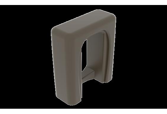 Панель для біде GSG TOUCH 41x16 matt Coffe (TOCOBI003)