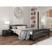 Двоспальне ліжко Естелла Венеція 160х190 буковий щит (DV-02.2)