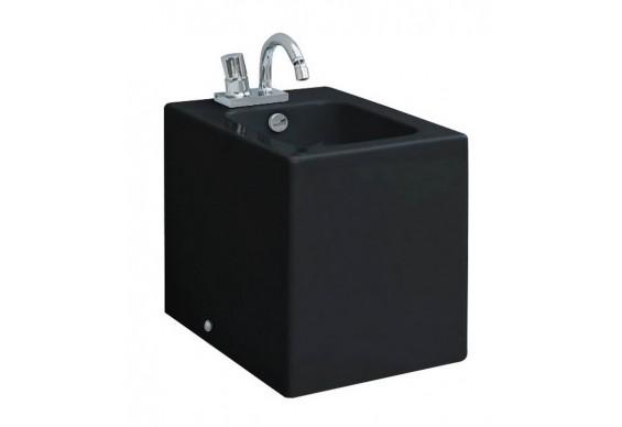 Підлогове біде ArtСeram Block, glossy black (BKB0020300)
