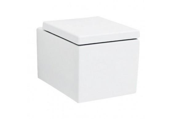Підвісний унітаз ArtCeram Block, matt white (BKV0010500)