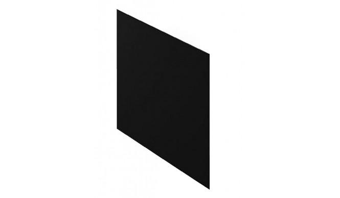 Бокова панель для ванни Polimat 65 см, чорний (00848)
