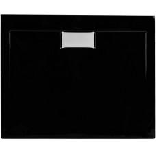 Душовий піддон Polimat Comfort 90x90 чорний (00830)