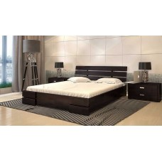 Двоспальне ліжко Арбор Древ Далі Люкс з підйомним механізмом 180х200 бук (DLB180)