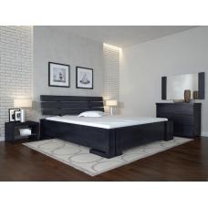 Двоспальне ліжко Арбор Древ Доміно з підйомним механізмом 180х200 бук (MP180)