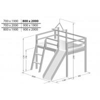 Ігрове ліжко Берест 70х200 (BR50)