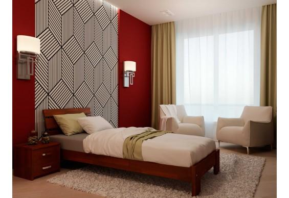 Односпальне ліжко НеоМеблі Лагуна 90х200 (NM2/200)