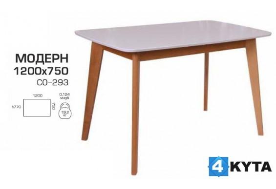 Стіл обідній Мелітополь Меблі Модерн 1200х750 (СО-293)