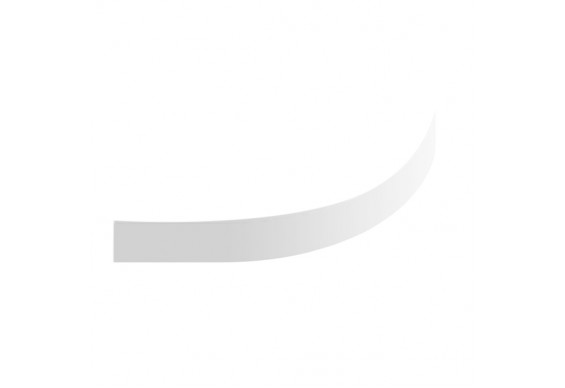 Панель для піддону NEW TRENDY CANTARE 100x100x14 см (O-0126)