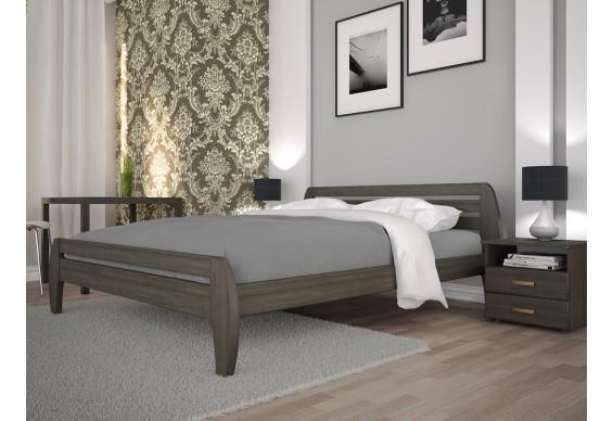 Двоспальне ліжко ТИС Нове 1 160x200 бук (TYS335)
