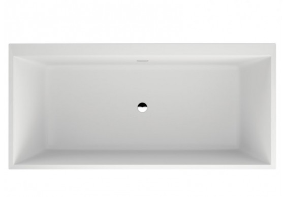 Ванна Polimat LEA 170х80 чорна мат + ніжки (00334)