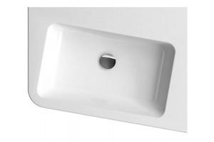 Кутовий умивальник Ravak 10 550 R з литого мармуру (XJIP1155000)