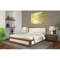 Двоспальне ліжко Арбор Древ Рената М з підйомним механізмом 160х200 бук (RMB160)