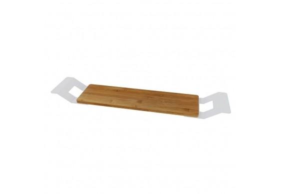 Поличка-сидіння для ванни Riho з бамбуку (561601201)