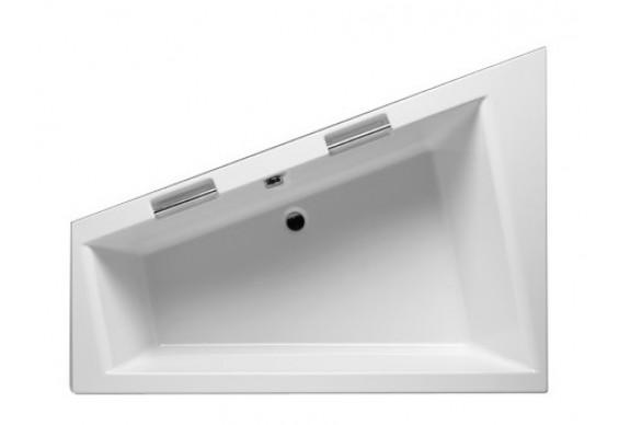 Ванна Riho Doppio асиметрична 180x130 см, R + ніжки (BA90)
