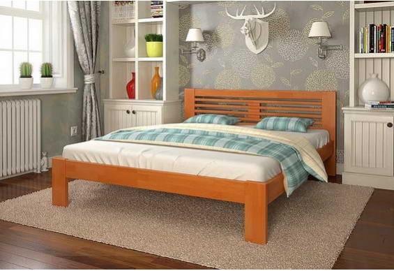 Односпальне ліжко Арбор Древ Шопен 120х190 сосна (HS120.2)