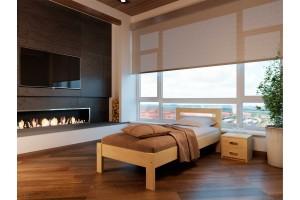 Односпальне ліжко НеоМеблі Соната 90х190 (NM11)