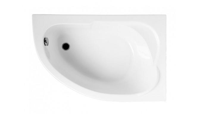 Ванна Polimat Standard асиметрична 130х85, R + ніжки (00343)