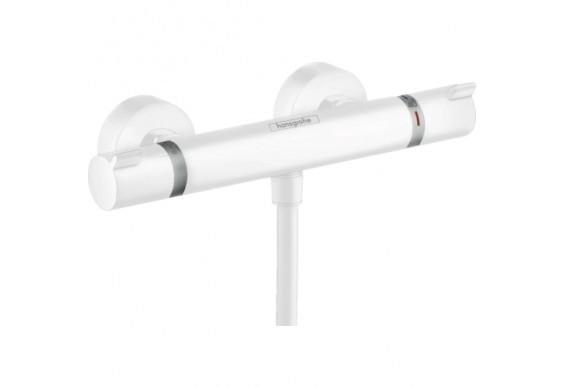 Термостатичний змішувач для душу Hansgrohe Ecostat Comfort, білий (13116700)