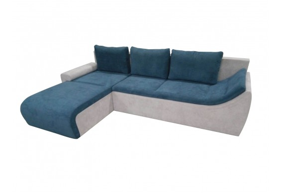 Кутовий диван Fabene Рома / Roma, кут Г синьо-сірий (FAB1063)
