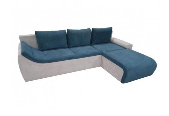 Кутовий диван Fabene Рома / Roma, кут 7 синьо-сірий (FAB1062)